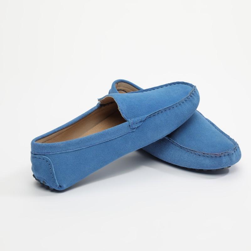 Mocassin Lenny Classique Bleu
