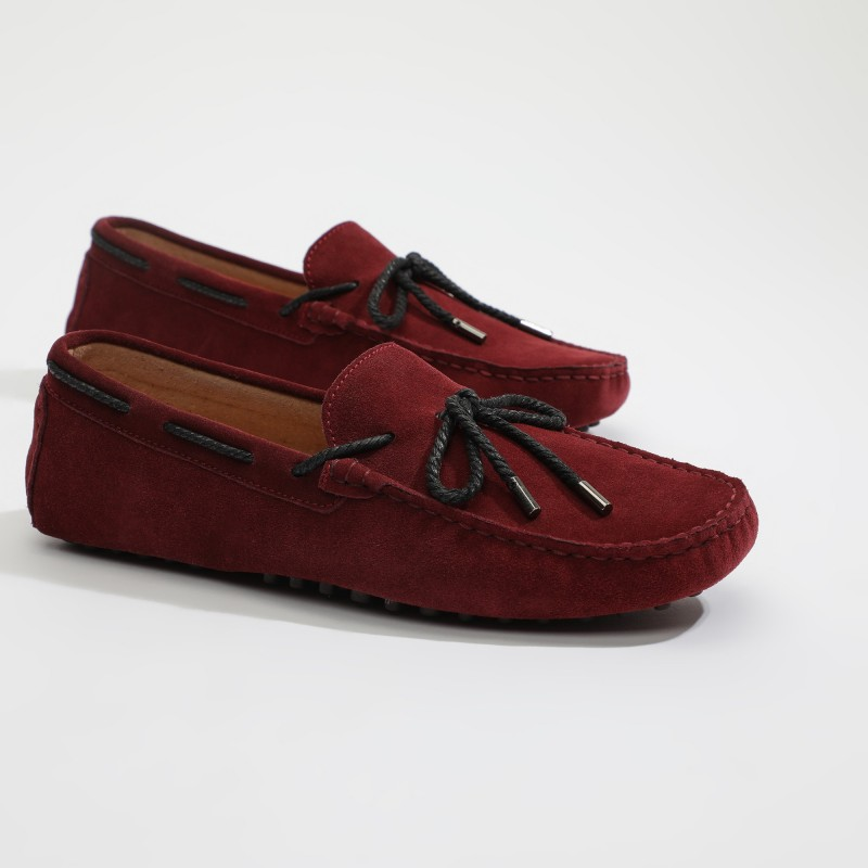 Mocassin Yuri Lacets Burgundy