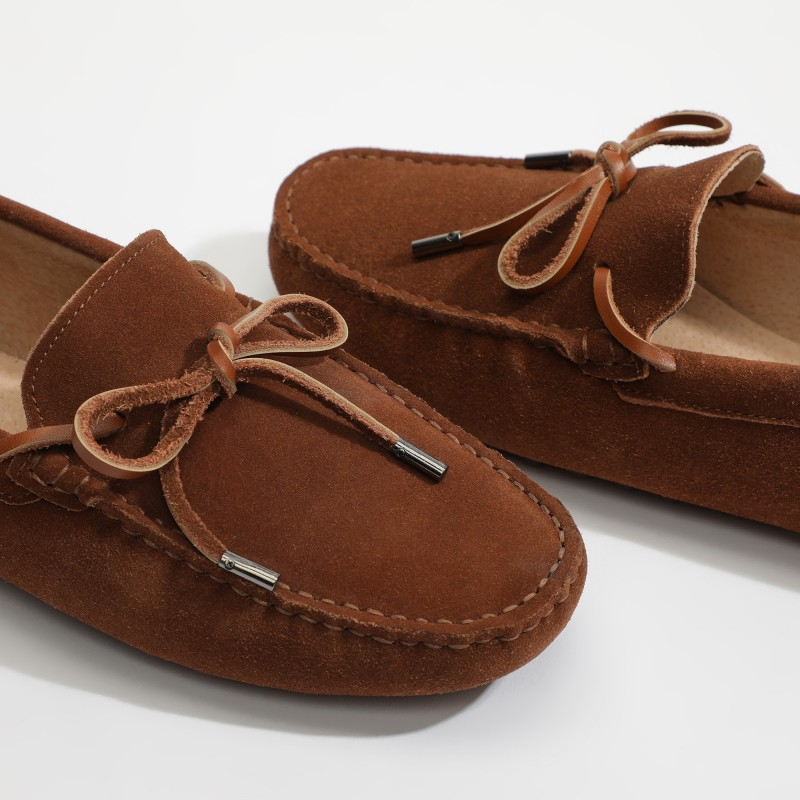 Mocassin Archy Lacets Camel