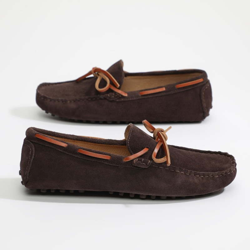Mocassin Toby Lacets Chocolat