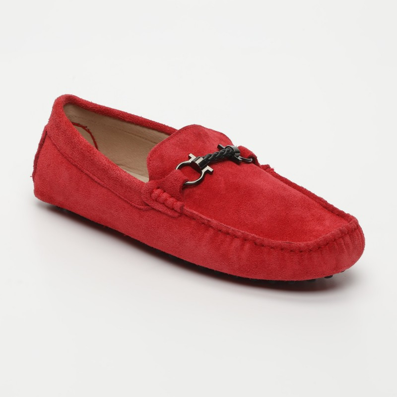 Mocassin Luke Fantaisie Rouge