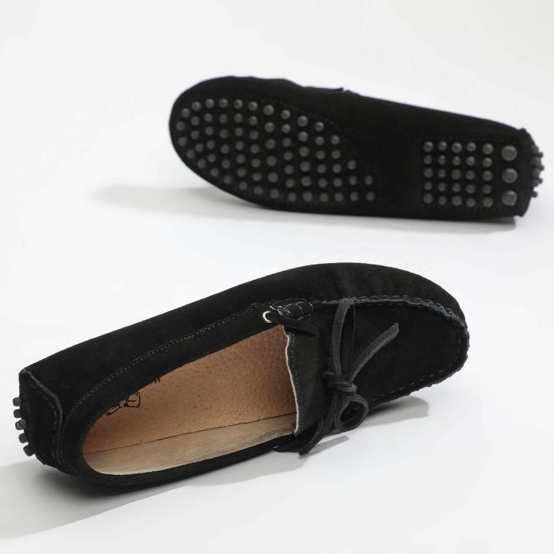 Mocassin Newton Lacets Noir