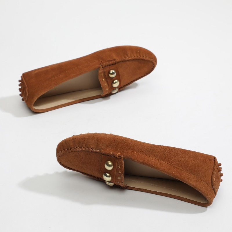 Mocassins Fantaisie Moka