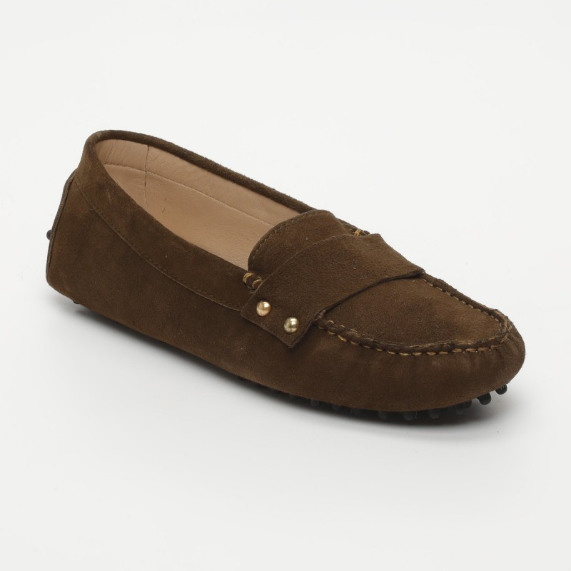 Mocassins Fantaisie Marron