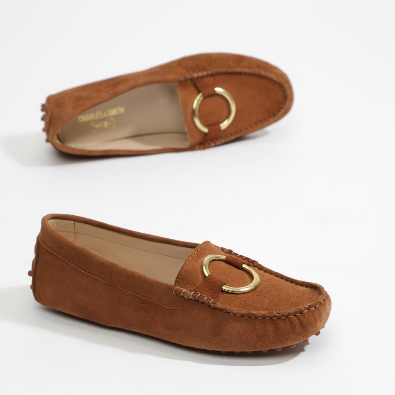 Mocassins Fantaisie Camel